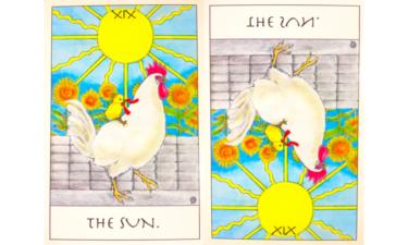 タロットカード『太陽』が意味する恋愛運と仕事運【正位置/逆位置】