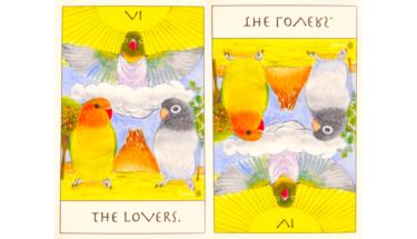 タロットカード『恋人』が意味する恋愛運と仕事運【正位置/逆位置】