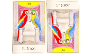 タロットカード『正義』が意味する恋愛運と仕事運【正位置/逆位置】