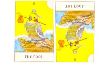 タロットカード『愚者』が意味する恋愛運と仕事運【正位置/逆位置】