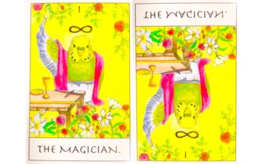 タロットカード『魔術師』が意味する恋愛運と仕事運【正位置/逆位置】
